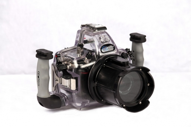 Housing for canon eos 1200d | cases-gio | Underwater housing